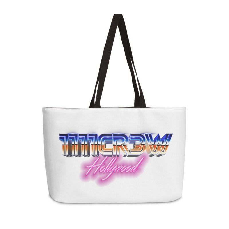 1111 Hollywood Accessories Weekender Bag Bag by 1111cr3w's Artist Shop