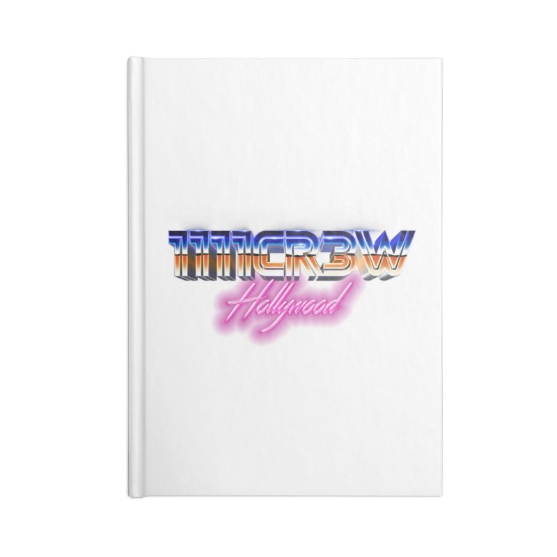 1111 Hollywood Accessories Lined Journal Notebook by 1111cr3w's Artist Shop