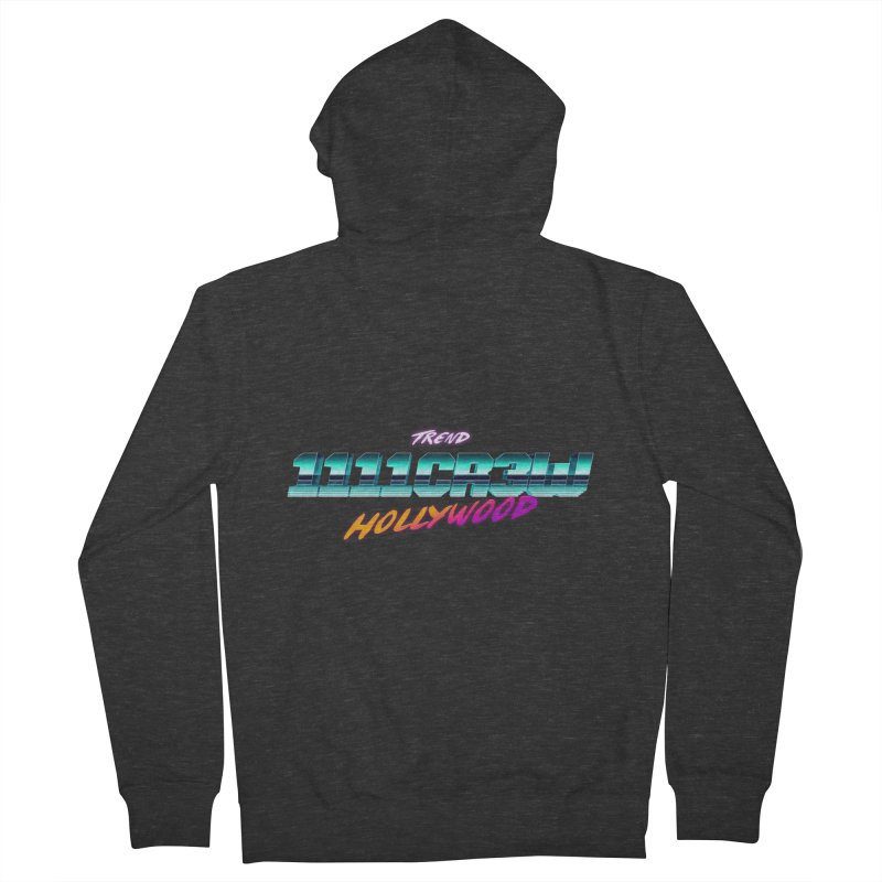 Trend Hipster Men's Zip-Up Hoody by 1111cr3w's Artist Shop