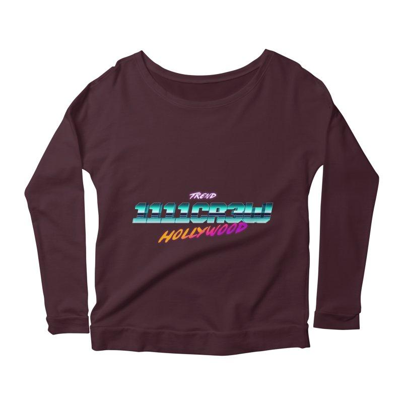 Trend Hipster Women's Longsleeve Scoopneck  by 1111cr3w's Artist Shop