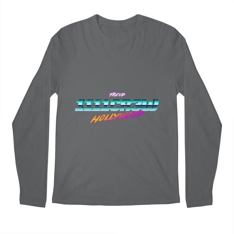 Trend Hipster Men's Longsleeve T-Shirt by 1111cr3w's Artist Shop