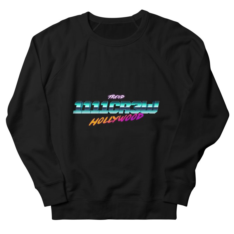 Trend Hipster in Men's Sweatshirt Black by 1111cr3w's Artist Shop