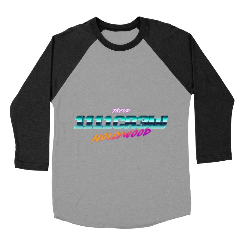 Trend Hipster Men's Baseball Triblend T-Shirt by 1111cr3w's Artist Shop