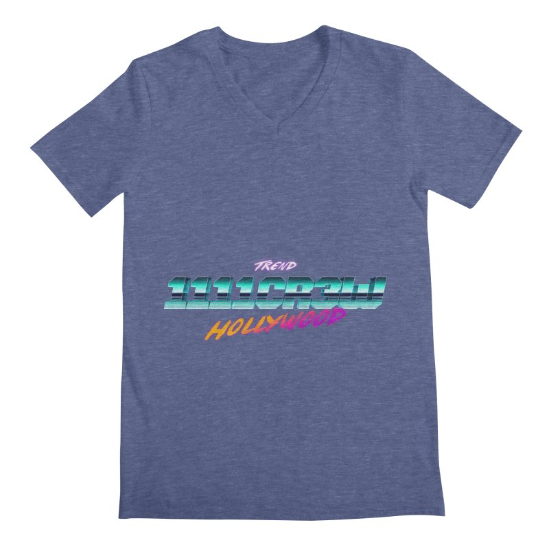 Trend Hipster Men's V-Neck by 1111cr3w's Artist Shop