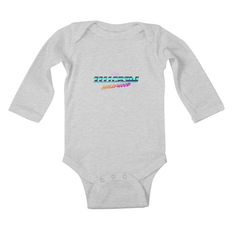 Trend Hipster Kids Baby Longsleeve Bodysuit by 1111cr3w's Artist Shop