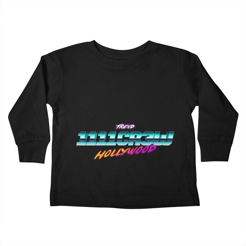 Trend Hipster Kids Toddler Longsleeve T-Shirt by 1111cr3w's Artist Shop
