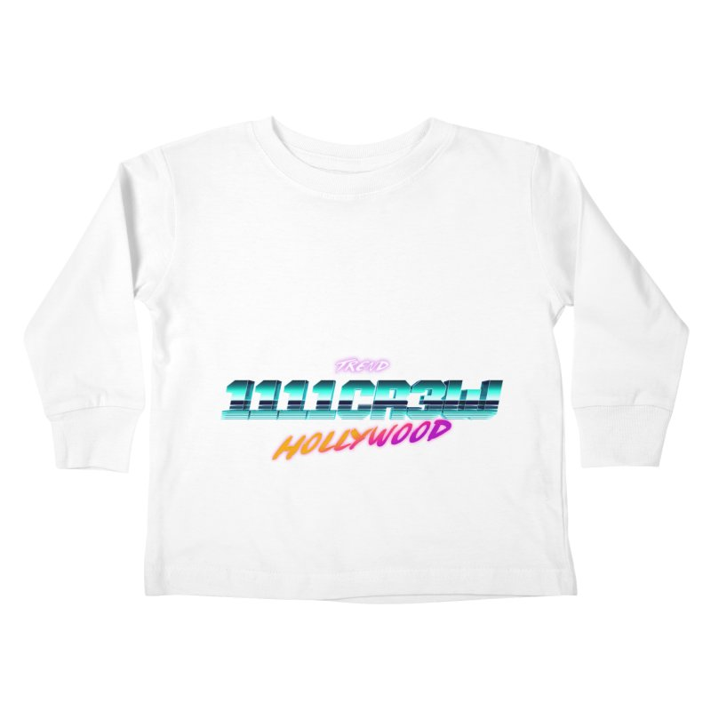 Trend Hipster Kids Toddler Longsleeve T-Shirt by 1111cr3w's Artist Shop