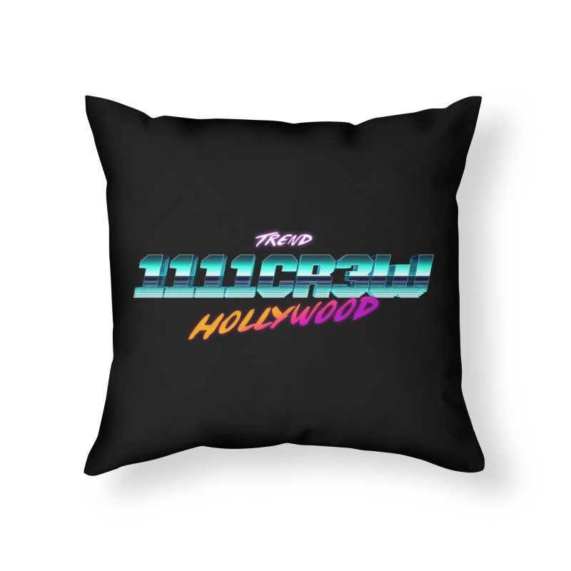 Trend Hipster Home Throw Pillow by 1111cr3w's Artist Shop