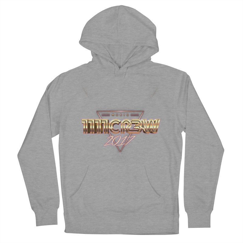 MUSIC Women's French Terry Pullover Hoody by 1111cr3w's Artist Shop