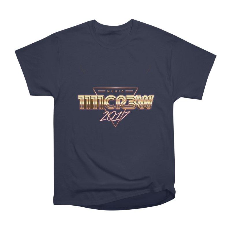 MUSIC Women's Heavyweight Unisex T-Shirt by 1111cr3w's Artist Shop