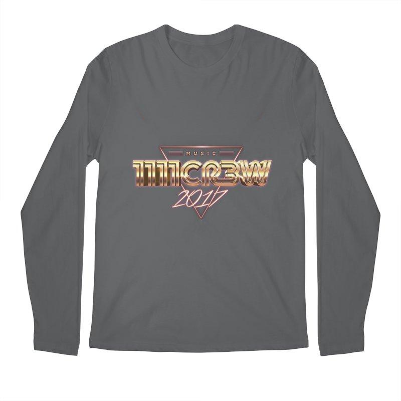 MUSIC Men's Regular Longsleeve T-Shirt by 1111cr3w's Artist Shop