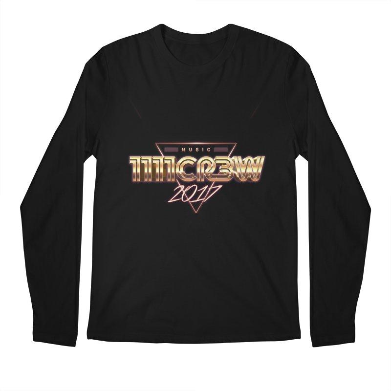 MUSIC Men's Longsleeve T-Shirt by 1111cr3w's Artist Shop
