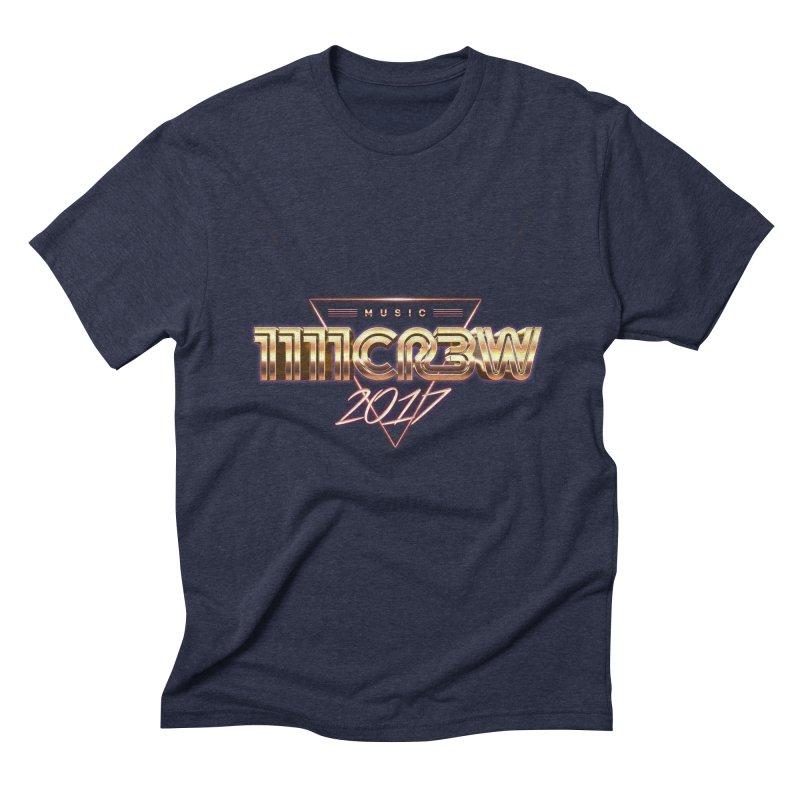 MUSIC Men's Triblend T-Shirt by 1111cr3w's Artist Shop