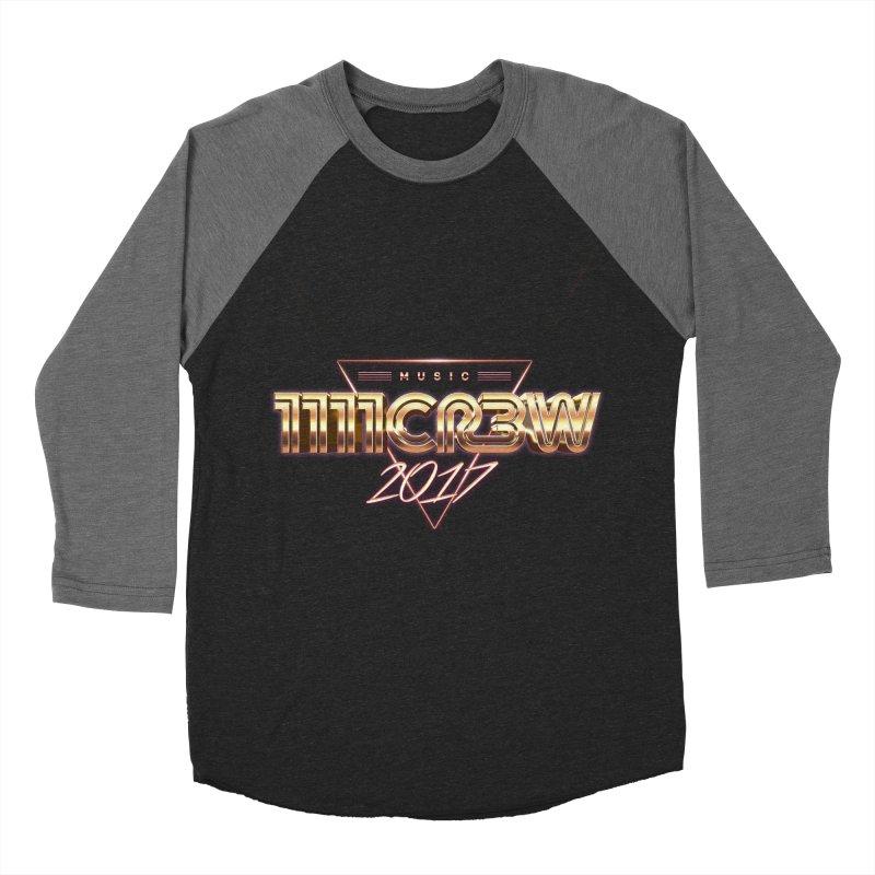 MUSIC Women's Baseball Triblend T-Shirt by 1111cr3w's Artist Shop