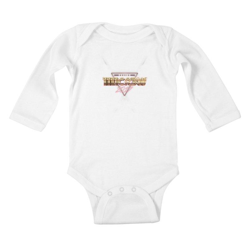 MUSIC Kids Baby Longsleeve Bodysuit by 1111cr3w's Artist Shop