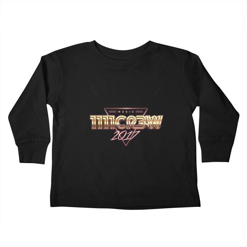 MUSIC Kids Toddler Longsleeve T-Shirt by 1111cr3w's Artist Shop