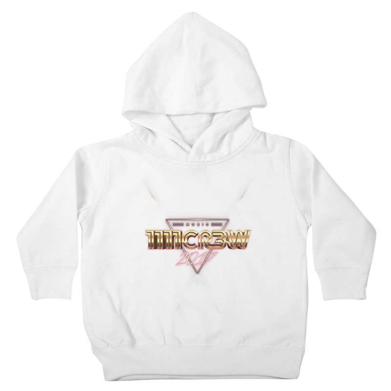 MUSIC Kids Toddler Pullover Hoody by 1111cr3w's Artist Shop