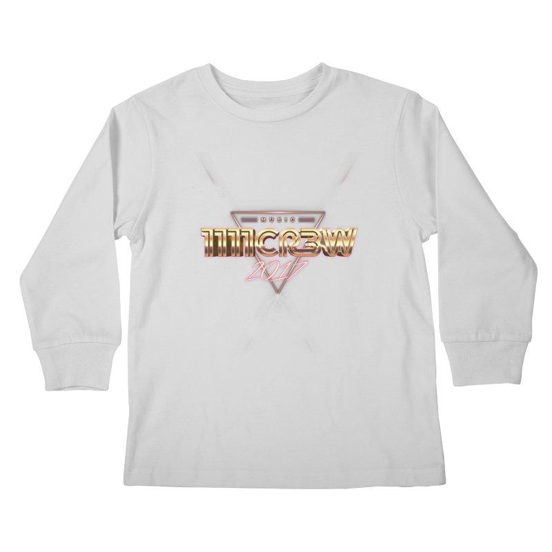 MUSIC Kids Longsleeve T-Shirt by 1111cr3w's Artist Shop