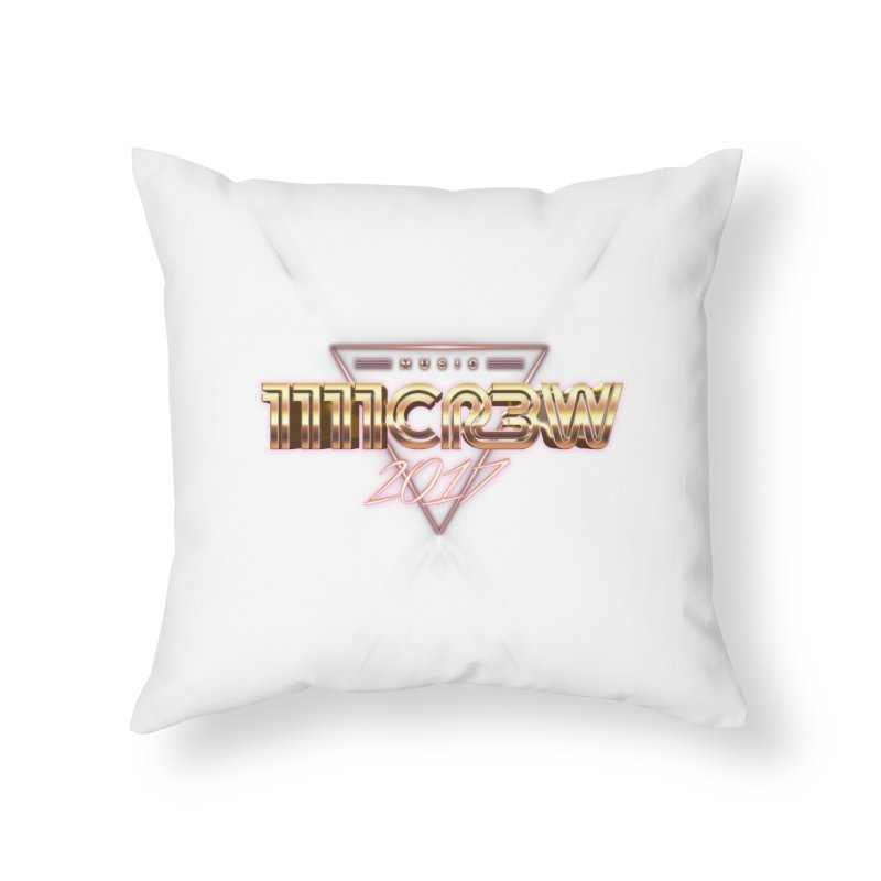 MUSIC Home Throw Pillow by 1111cr3w's Artist Shop