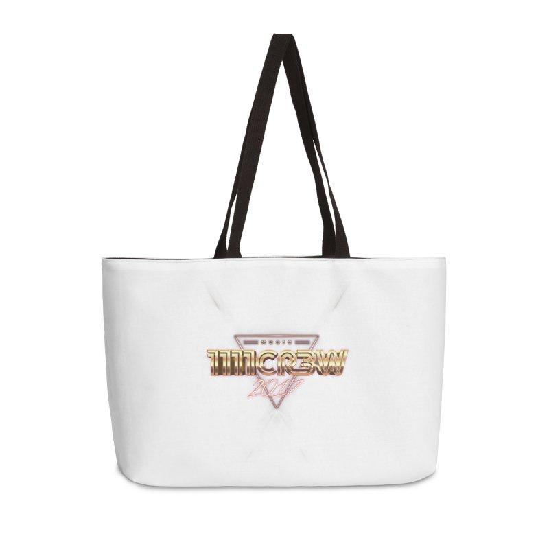 MUSIC Accessories Weekender Bag Bag by 1111cr3w's Artist Shop