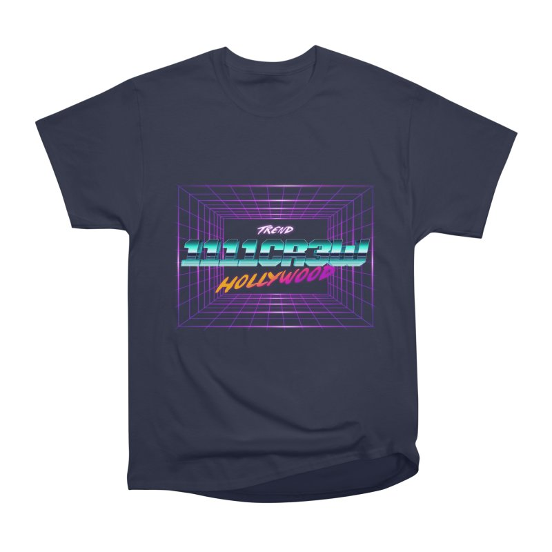 1111 Hollywood (Square) Women's Heavyweight Unisex T-Shirt by 1111cr3w's Artist Shop