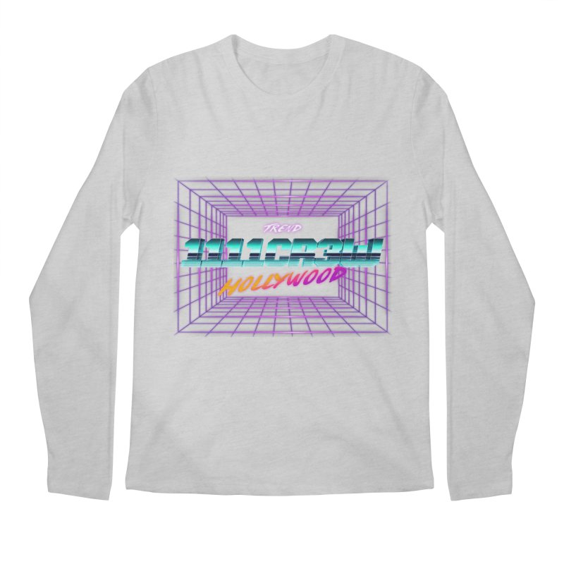 1111 Hollywood (Square) Men's Longsleeve T-Shirt by 1111cr3w's Artist Shop