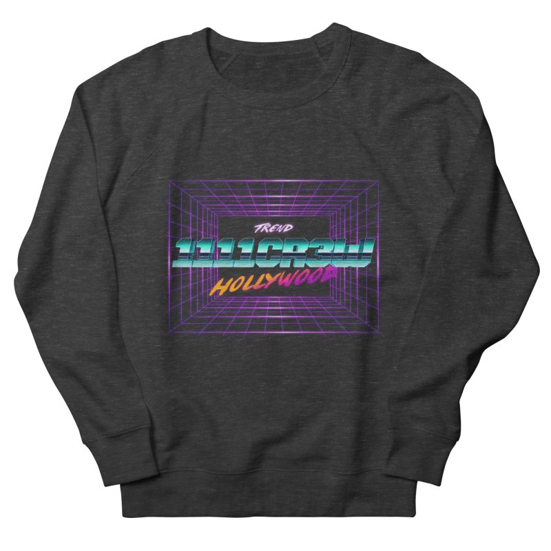 1111 Hollywood (Square) Men's French Terry Sweatshirt by 1111cr3w's Artist Shop
