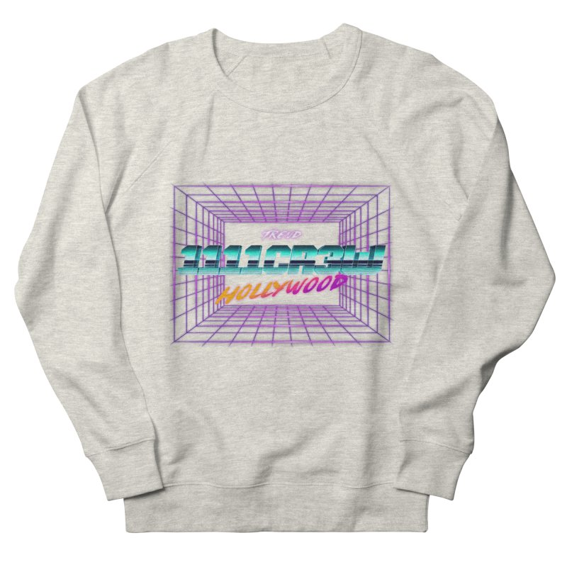 1111 Hollywood (Square) Men's Sweatshirt by 1111cr3w's Artist Shop