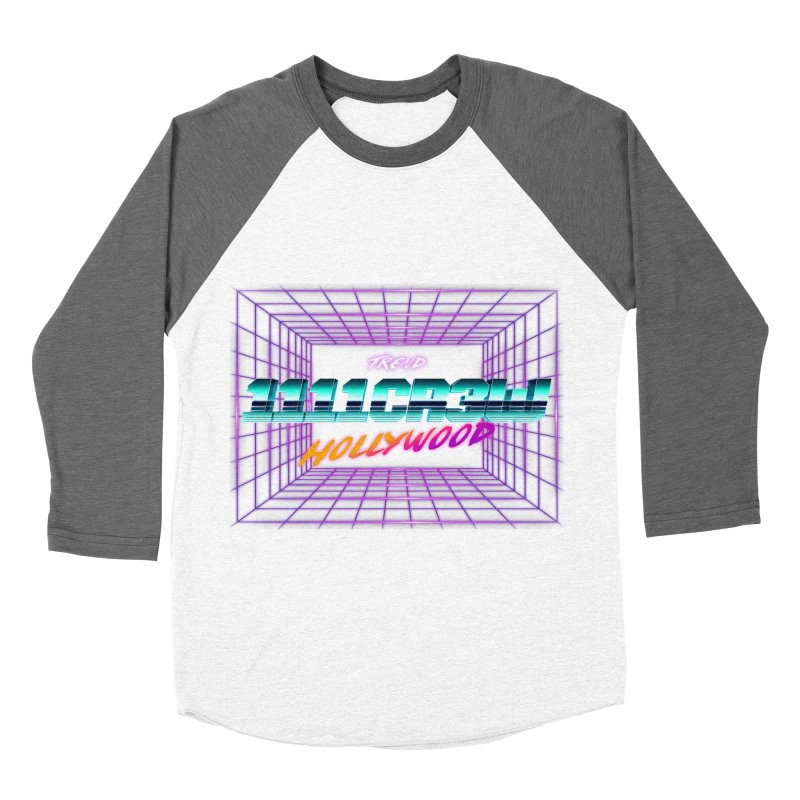 1111 Hollywood (Square) Women's Baseball Triblend Longsleeve T-Shirt by 1111cr3w's Artist Shop