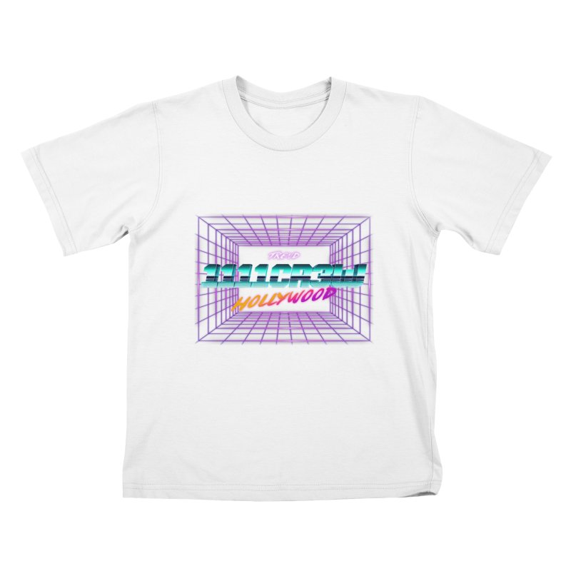 1111 Hollywood (Square) Kids T-Shirt by 1111cr3w's Artist Shop