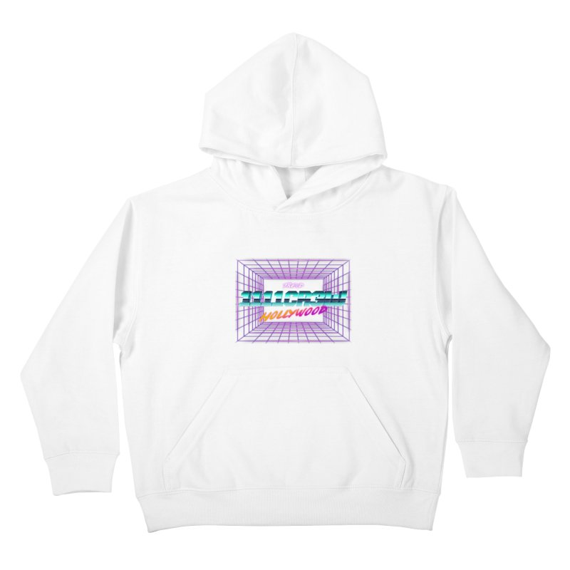 1111 Hollywood (Square) Kids Pullover Hoody by 1111cr3w's Artist Shop
