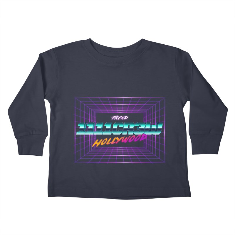 1111 Hollywood (Square) Kids Toddler Longsleeve T-Shirt by 1111cr3w's Artist Shop