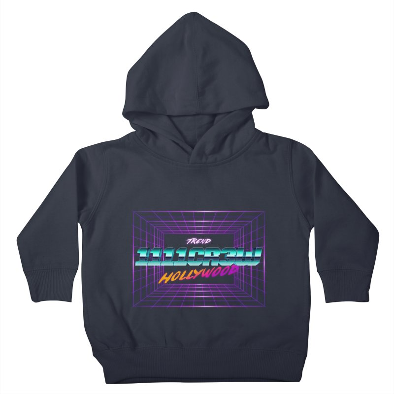 1111 Hollywood (Square) Kids Toddler Pullover Hoody by 1111cr3w's Artist Shop