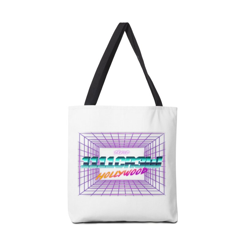 1111 Hollywood (Square) Accessories Bag by 1111cr3w's Artist Shop