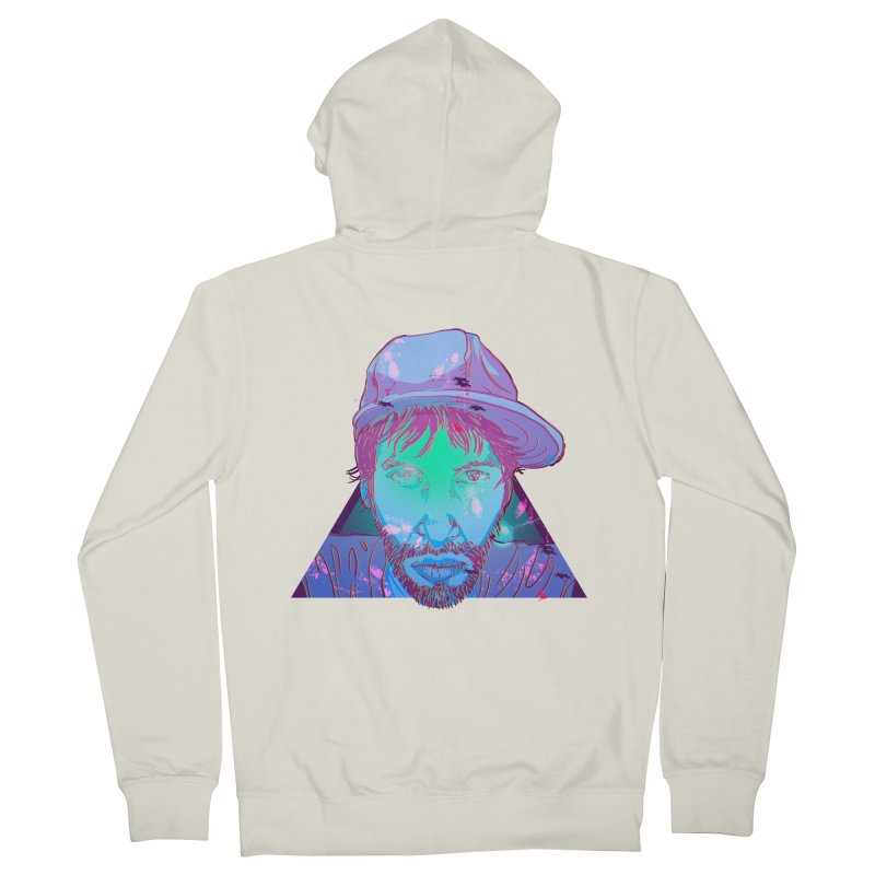 Triangle Men's Zip-Up Hoody by 1111cr3w's Artist Shop