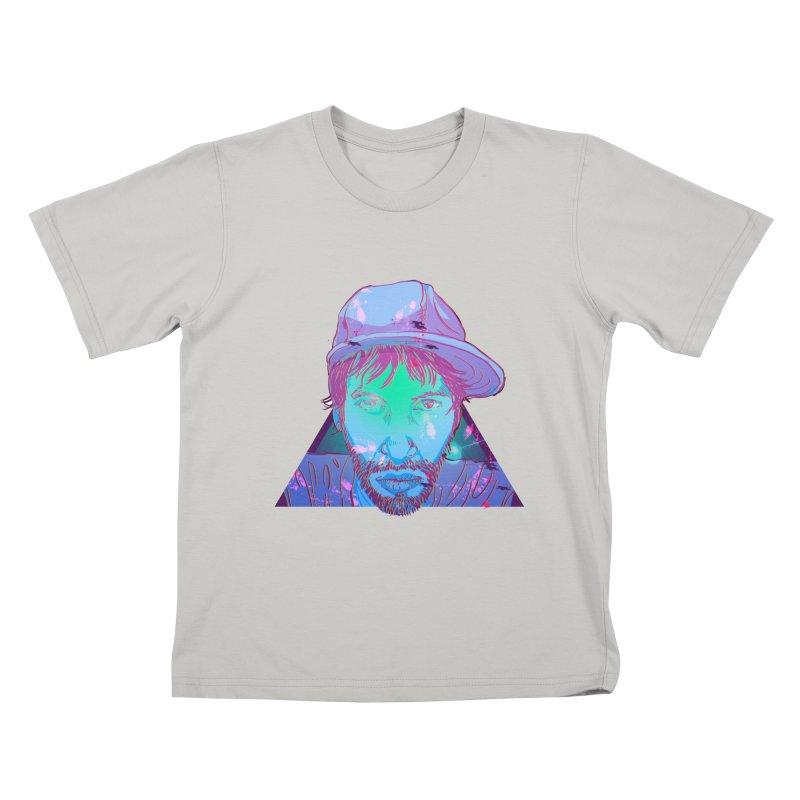 Triangle Kids T-shirt by 1111cr3w's Artist Shop