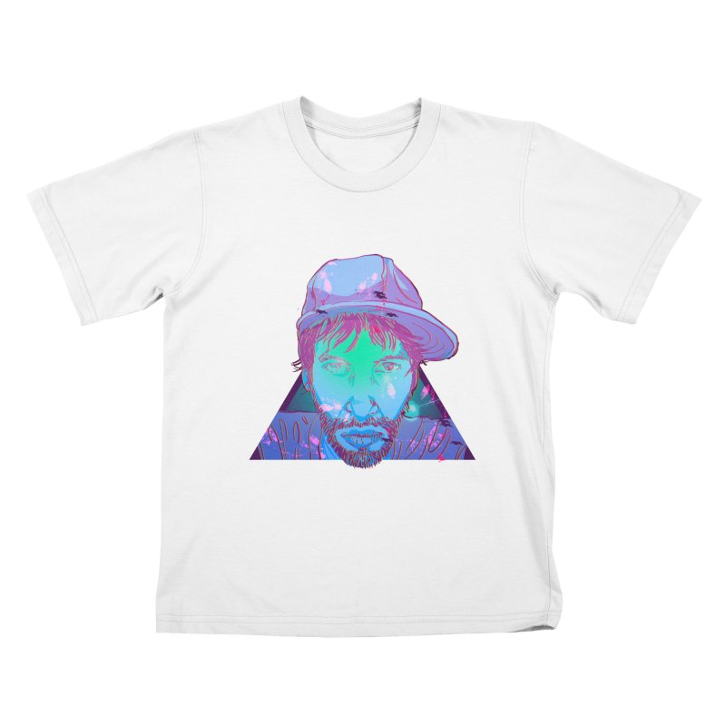 Triangle Kids T-shirt by 1111cr3w's Artist Shop