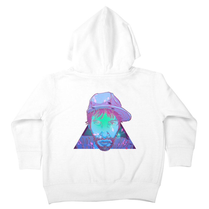 Triangle Kids Toddler Zip-Up Hoody by 1111cr3w's Artist Shop