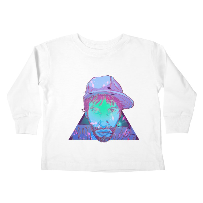 Triangle Kids Toddler Longsleeve T-Shirt by 1111cr3w's Artist Shop