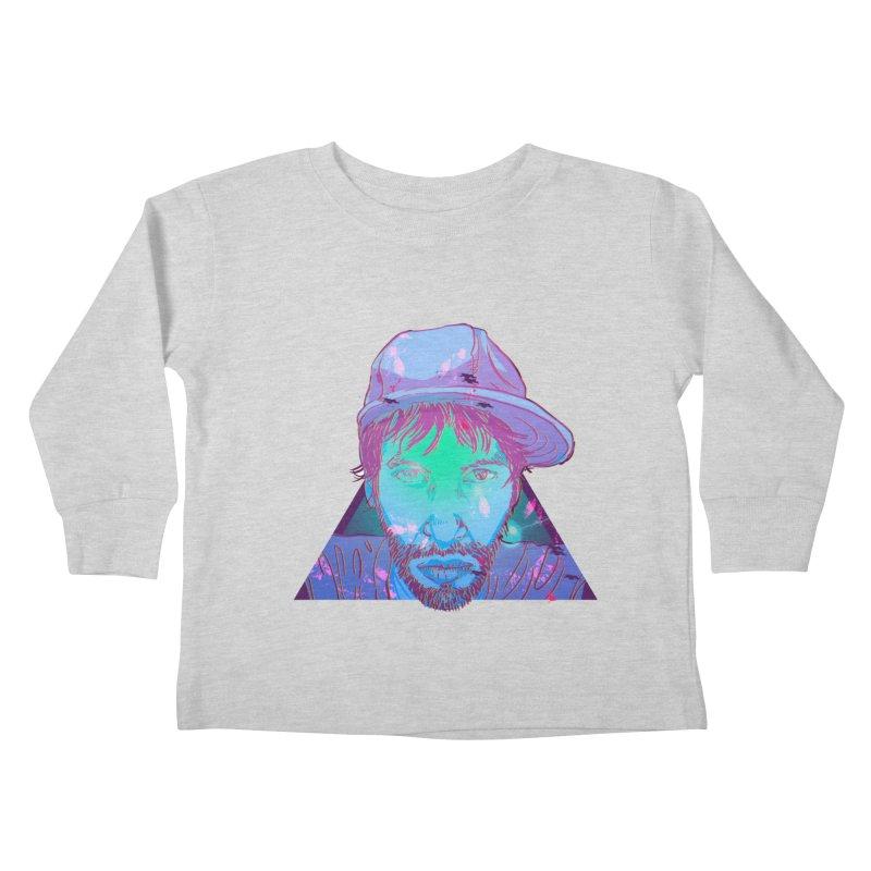 Triangle Kids Toddler Longsleeve T-Shirt by 1111cr3w's Artist Shop