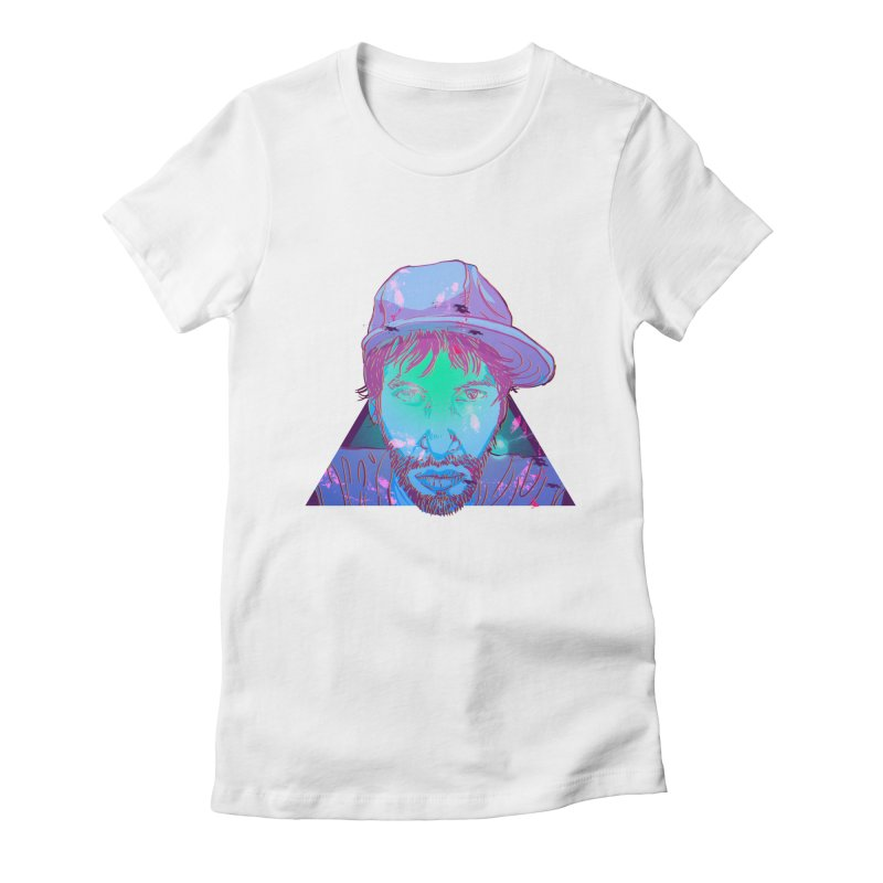 Triangle Women's Fitted T-Shirt by 1111cr3w's Artist Shop