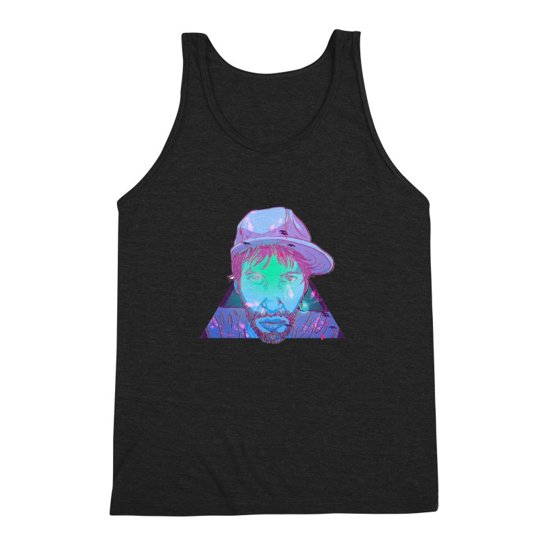 Triangle Men's Triblend Tank by 1111cr3w's Artist Shop