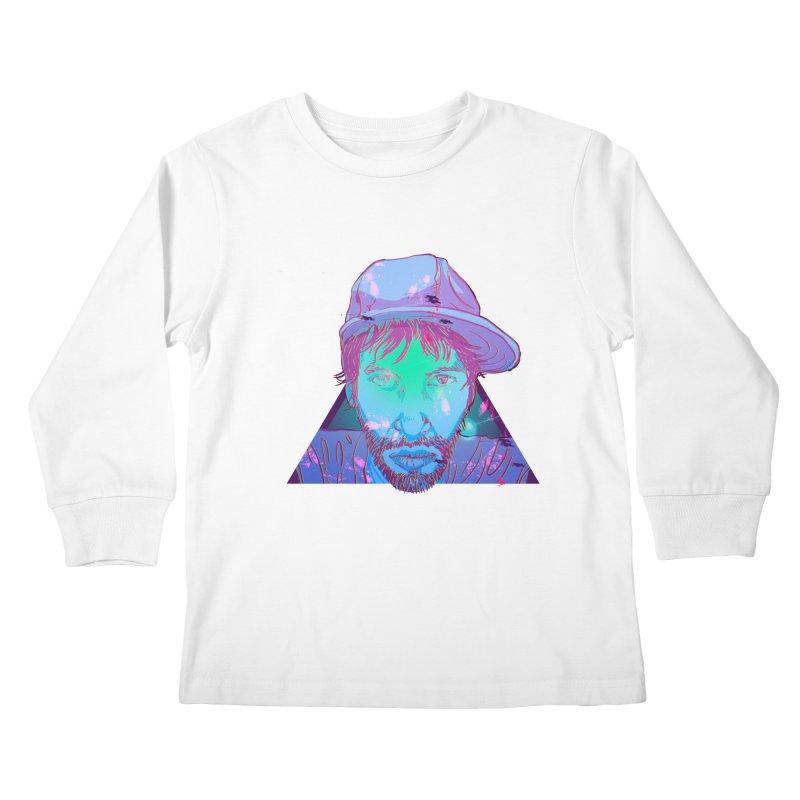 Triangle Kids Longsleeve T-Shirt by 1111cr3w's Artist Shop