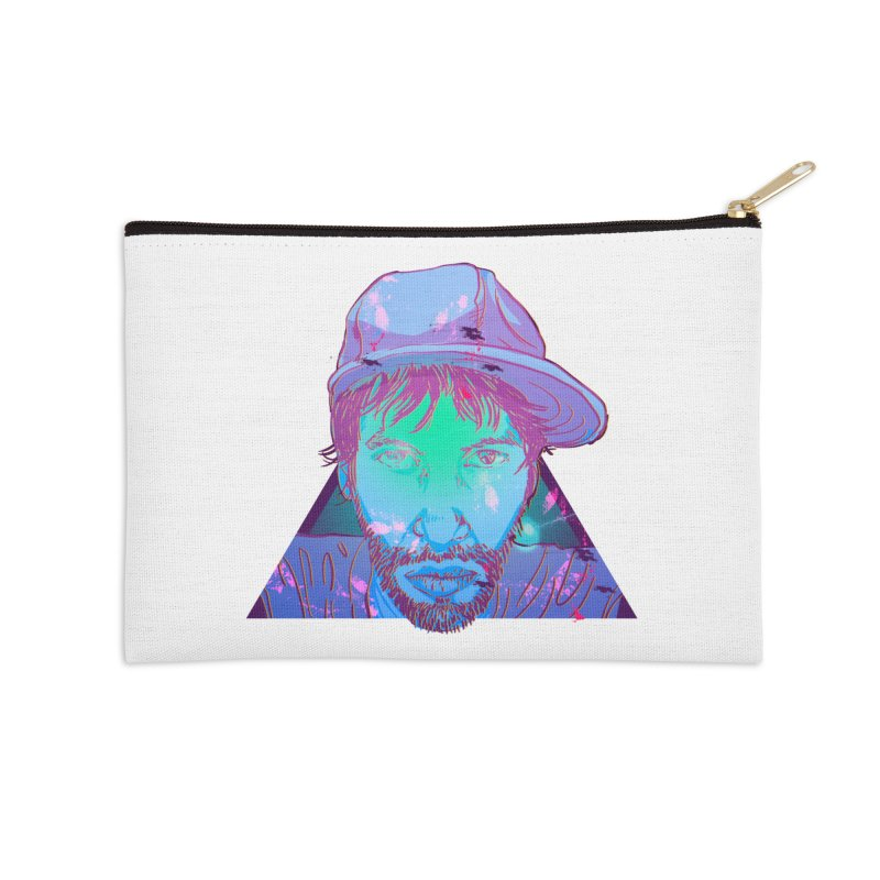 Triangle Accessories Zip Pouch by 1111cr3w's Artist Shop