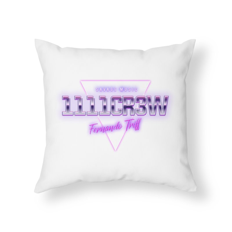 Savage Home Throw Pillow by 1111cr3w's Artist Shop