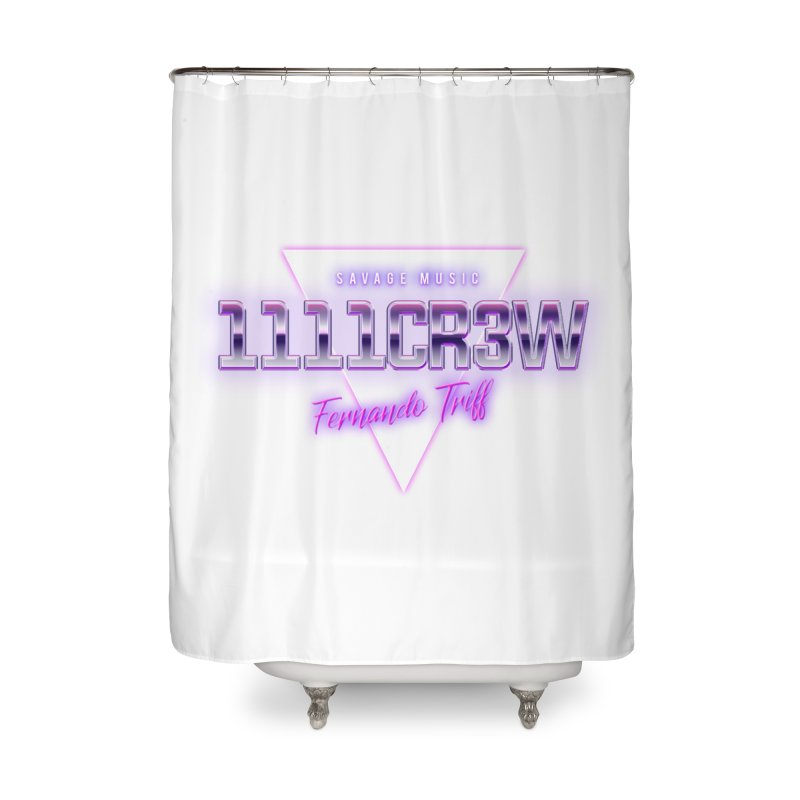 Savage Home Shower Curtain by 1111cr3w's Artist Shop