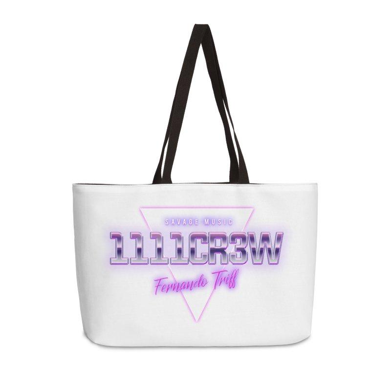 Savage Accessories Weekender Bag Bag by 1111cr3w's Artist Shop