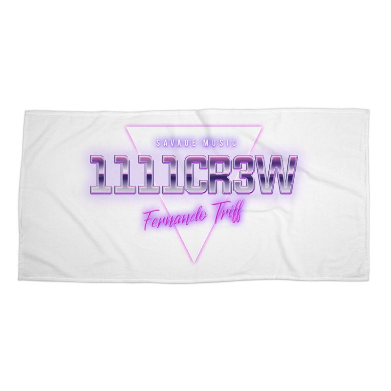 Savage Accessories Beach Towel by 1111cr3w's Artist Shop