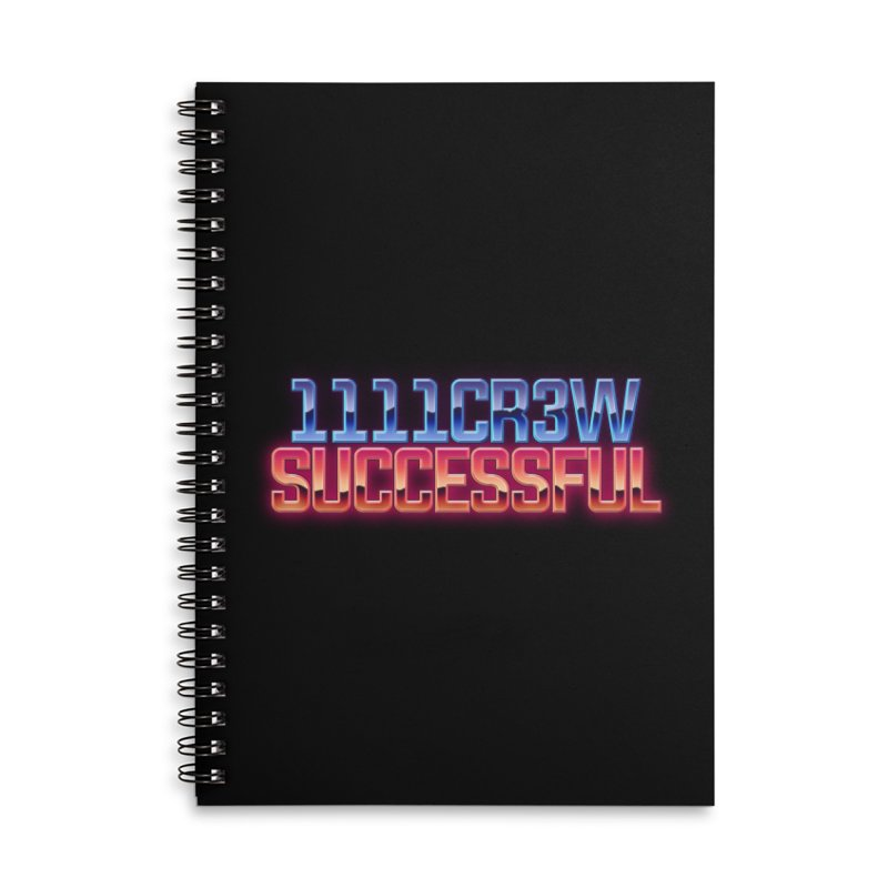 Successful Accessories Notebook by 1111cr3w's Artist Shop