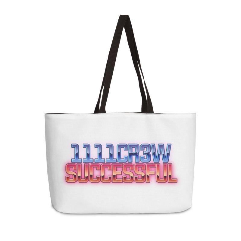 Successful Accessories Weekender Bag Bag by 1111cr3w's Artist Shop